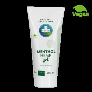 Annabis menthol hemp gel oхлаждащ масажен гел с коноп